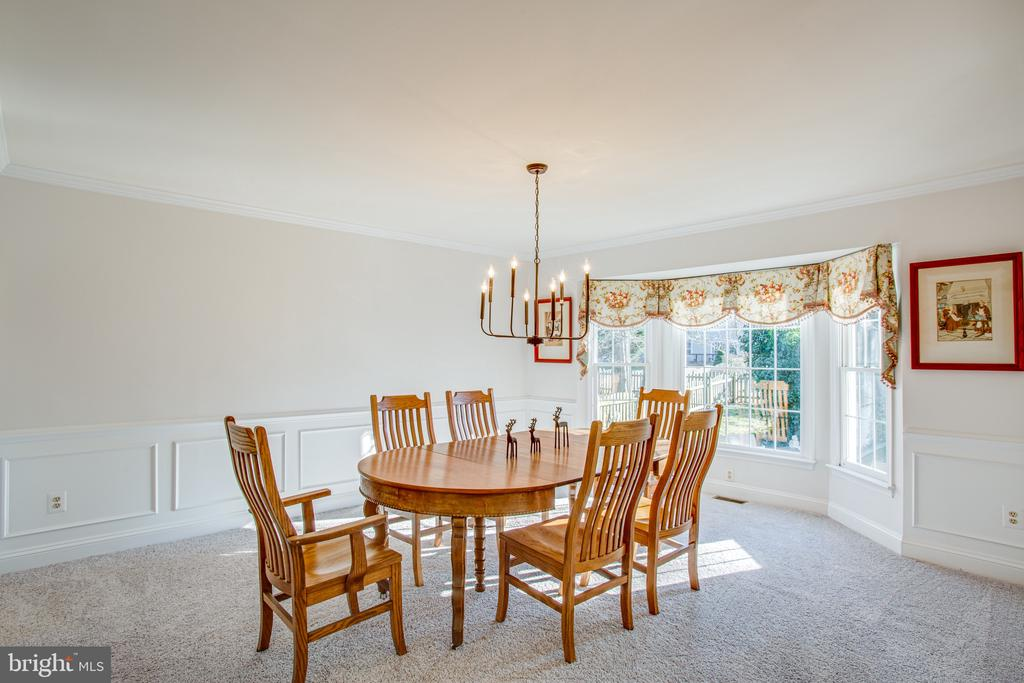 Room for a large table and buffet, too - 6102 NEW PEMBROOK LN, FREDERICKSBURG