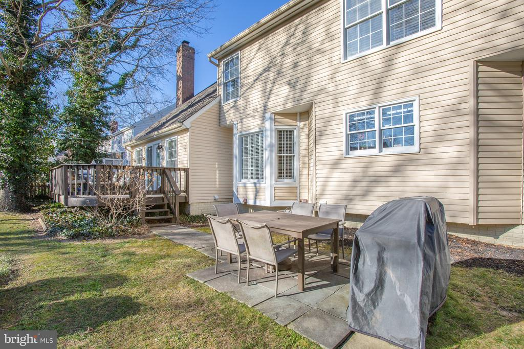 Patio and deck offer many options - 6102 NEW PEMBROOK LN, FREDERICKSBURG
