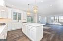 Kitchen w/ optional features - 6626 ACCIPITER DR, NEW MARKET