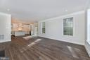 Family Room open to Kitchen - 6626 ACCIPITER DR, NEW MARKET