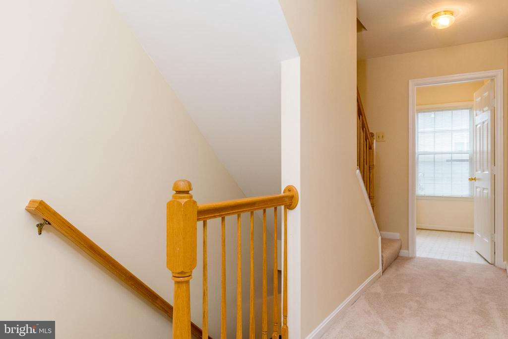 2nd level is devoted to the Master & Laundry room - 22909 ADELPHI TER, STERLING
