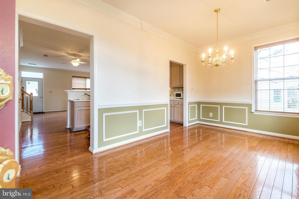 Enter in this Lovely Formal Dining Room - 22909 ADELPHI TER, STERLING