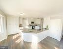 Eat in Kitchen facing into the kitchen - 10809 WISE CT, SPOTSYLVANIA