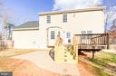 Showing new patio ad assed deck steps that are lit - 10809 WISE CT, SPOTSYLVANIA