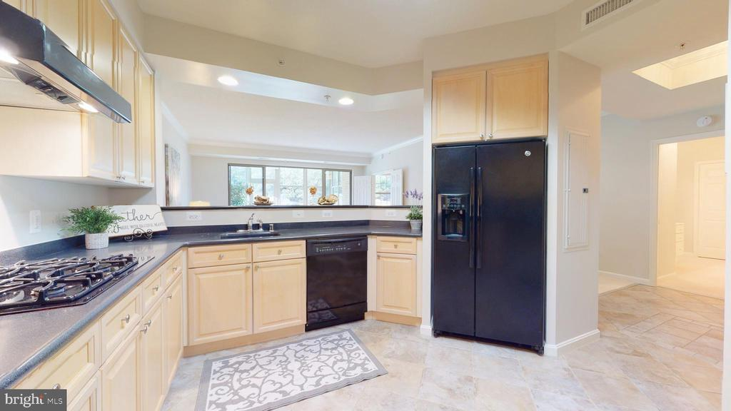 Gas Cooking, Ceramic Tile Floor, Lots of Space! - 19350 MAGNOLIA GROVE SQ #103, LEESBURG