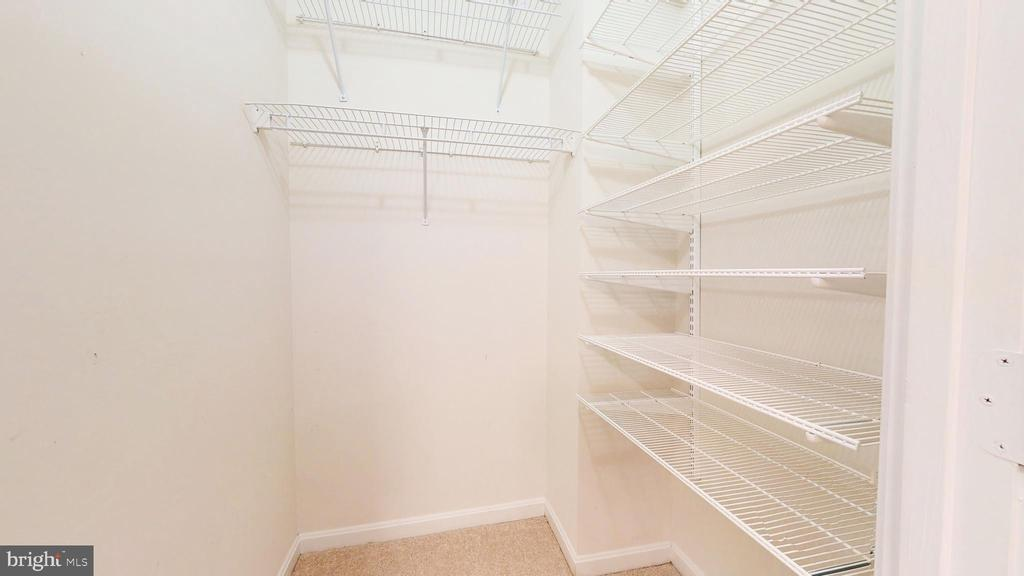 Primary Walk-in Closet #2 - 19350 MAGNOLIA GROVE SQ #103, LEESBURG