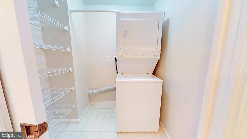 Laundry Room - Room for Side by Side if desired - 19350 MAGNOLIA GROVE SQ #103, LEESBURG