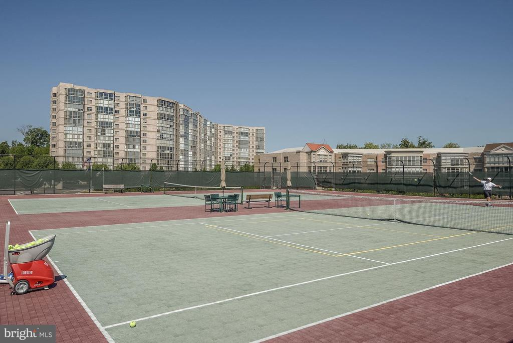 Community Tennis Courts - 19350 MAGNOLIA GROVE SQ #103, LEESBURG