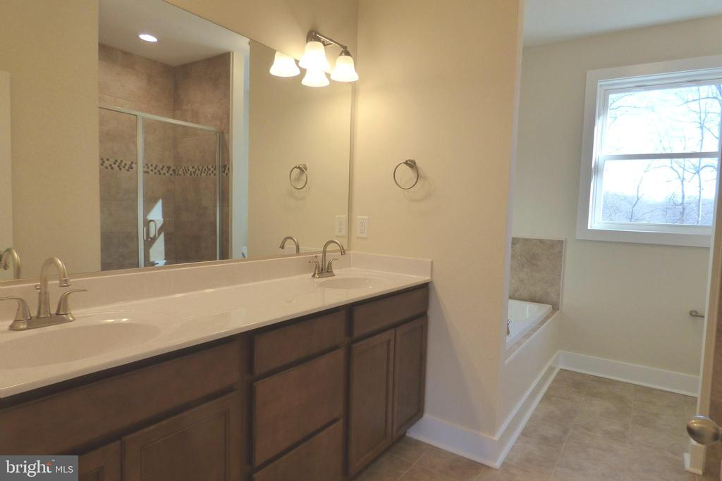 Primary Bath Main Level - 1066 LAKEVIEW DR, STAFFORD