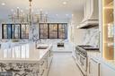 Italian marble and ceramic lend a modern edge - 620 RIVERCREST DR, MCLEAN