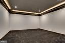 Lower level media room, perfect for entertaining - 620 RIVERCREST DR, MCLEAN