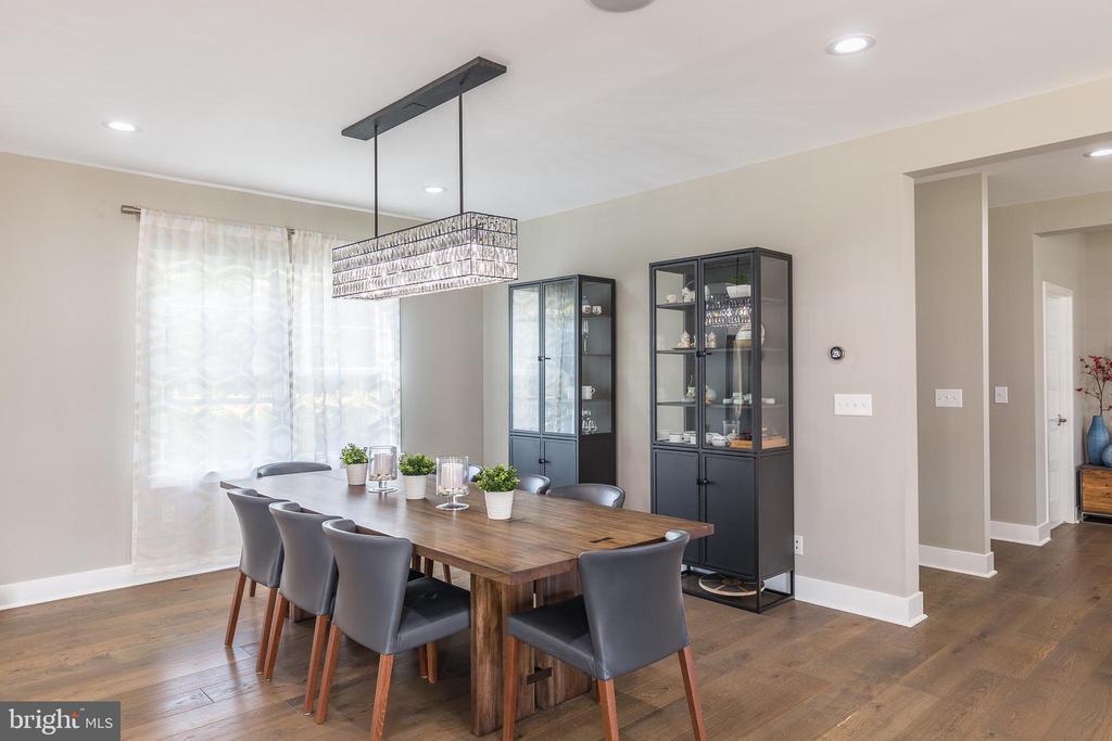 Formal dining room - 4004 TAYLOR DR, FAIRFAX