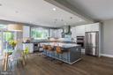 Gourmet kitchen - 4004 TAYLOR DR, FAIRFAX