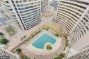 View of Outdoor Pool - 1300 CRYSTAL DR #PENTHOUSE 14, ARLINGTON