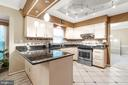Granite counters and large island for gourmet cook - 129 NORTHAMPTON BLVD, STAFFORD