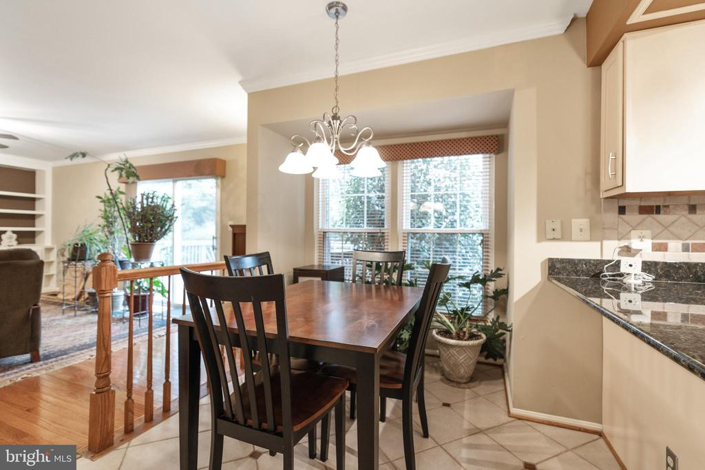 Plenty of table space in kitchen - 129 NORTHAMPTON BLVD, STAFFORD