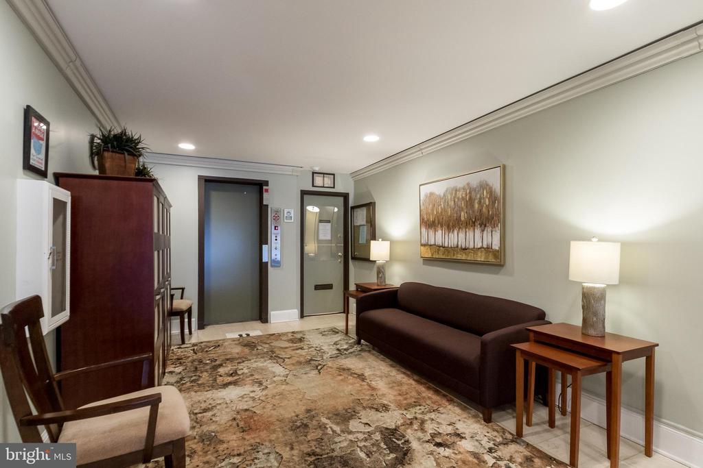 Beautiful entry into complex and elevator! - 3031 BORGE ST #101, OAKTON