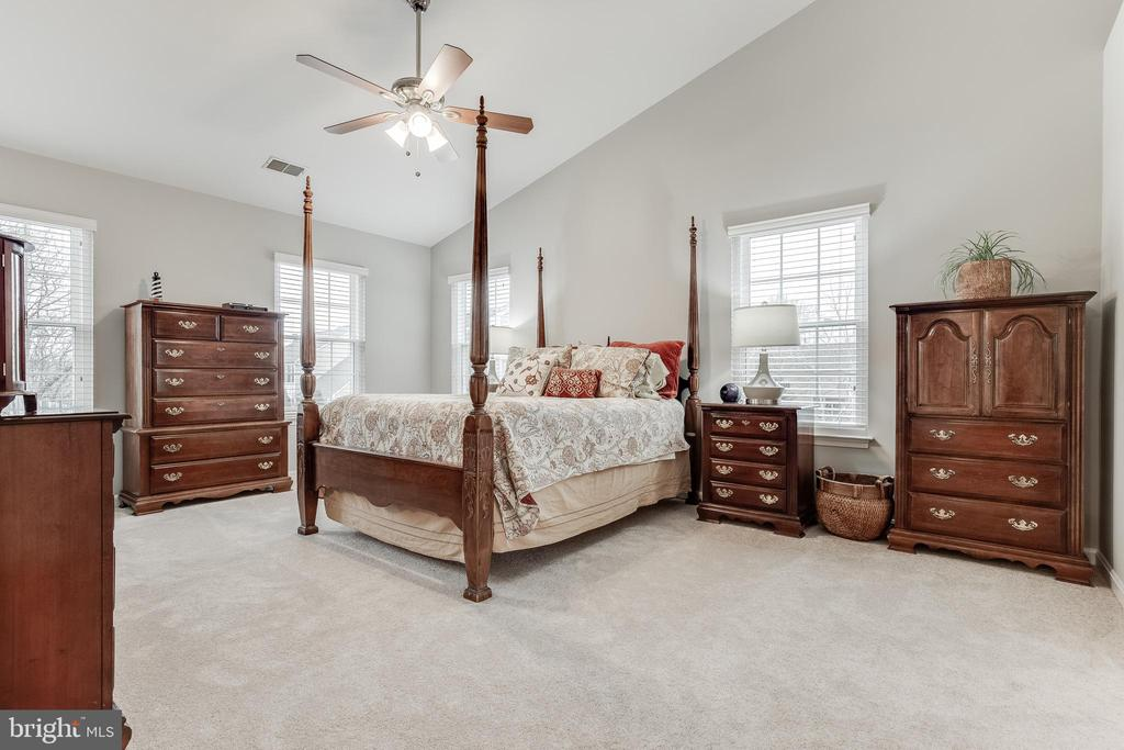 Primary Suite with Vaulted Ceilings - 609 MICHAEL PATRICK CT SE, LEESBURG
