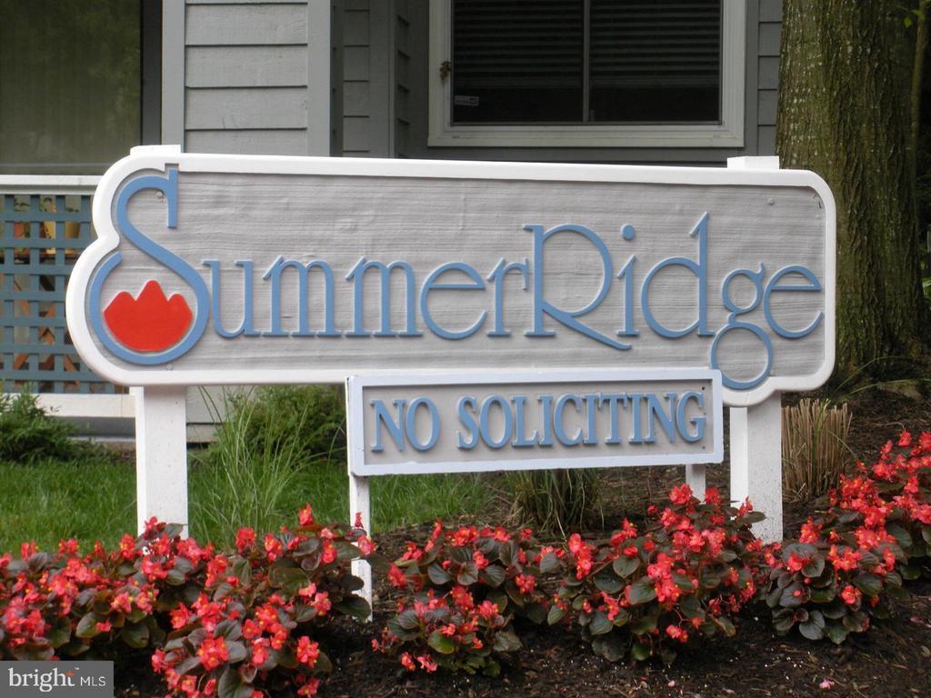 Community entrance feature - 11705-C SUMMERCHASE CIR #1705-C, RESTON