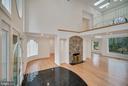 Foyer/Living Room - 319 STONINGTON RD, SILVER SPRING