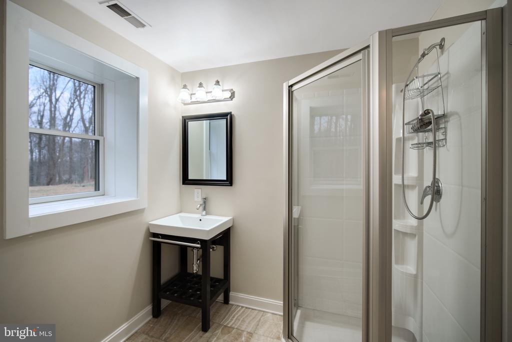 Lower Level Bathroom - 319 STONINGTON RD, SILVER SPRING