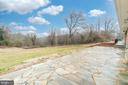 Beautiful view from rock patio - 9035 DAHLGREN RD, KING GEORGE