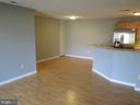 Table space next to kitchen bar w room for stools - 11705-C SUMMERCHASE CIR #1705-C, RESTON