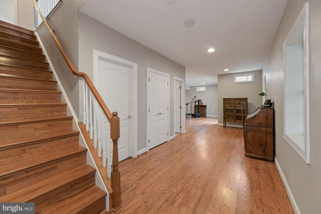 Walkout Lower Level - 8192 COTTAGE ROSE CT, FAIRFAX STATION