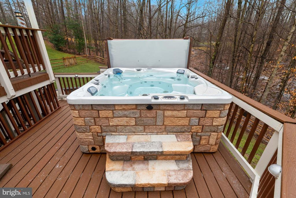 Hot Tub - 8192 COTTAGE ROSE CT, FAIRFAX STATION