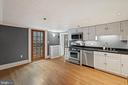 2 of 4 outside entry into kitchen - 515 7TH ST SE, WASHINGTON