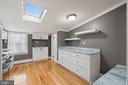 Skylit second floor kitchen - 515 7TH ST SE, WASHINGTON