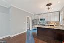 Capacious new kitchen with breakfast bar - 515 7TH ST SE, WASHINGTON