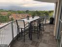 East Covered Terrace - 3409 WILSON BLVD #611, ARLINGTON