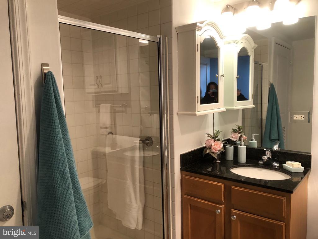Full size Hall Bath on right side  near 2nd bdrm. - 880 N POLLARD ST #201, ARLINGTON