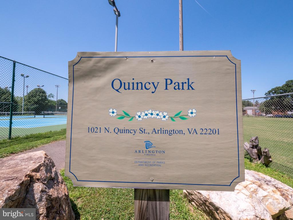 Nearby park with trails, fields and more. - 880 N POLLARD ST #201, ARLINGTON