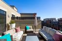 Outside terrace - 1700 CLARENDON BLVD #157, ARLINGTON