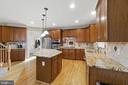Upgraded Granite Countertops - 11208 BLUFFS VW, SPOTSYLVANIA