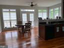 Natural light abounds in this eat in kitchen - 2 ONYX CT, STAFFORD
