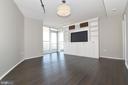 Master Bedroom w/ Builtins - 3409 WILSON BLVD #611, ARLINGTON