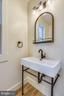 Modern and Timeless Powder Room - 309 N PATRICK ST, ALEXANDRIA