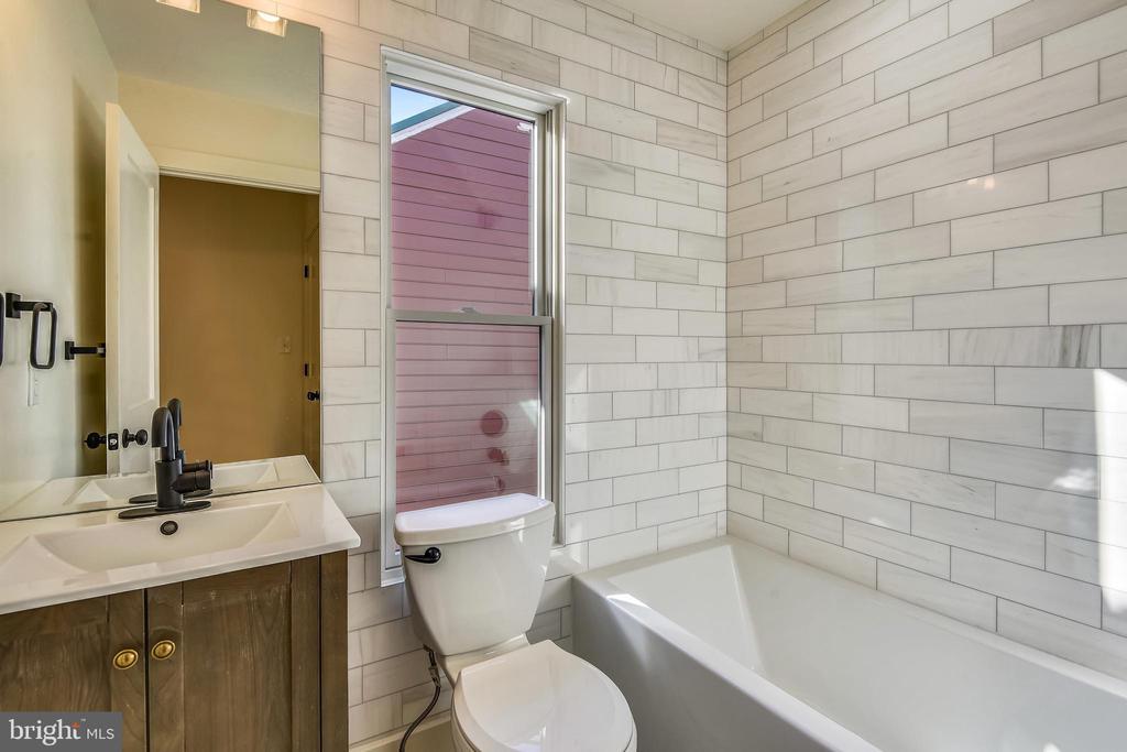 Custom Marble Tile Bathroom, with Soaking Tub - 309 N PATRICK ST, ALEXANDRIA