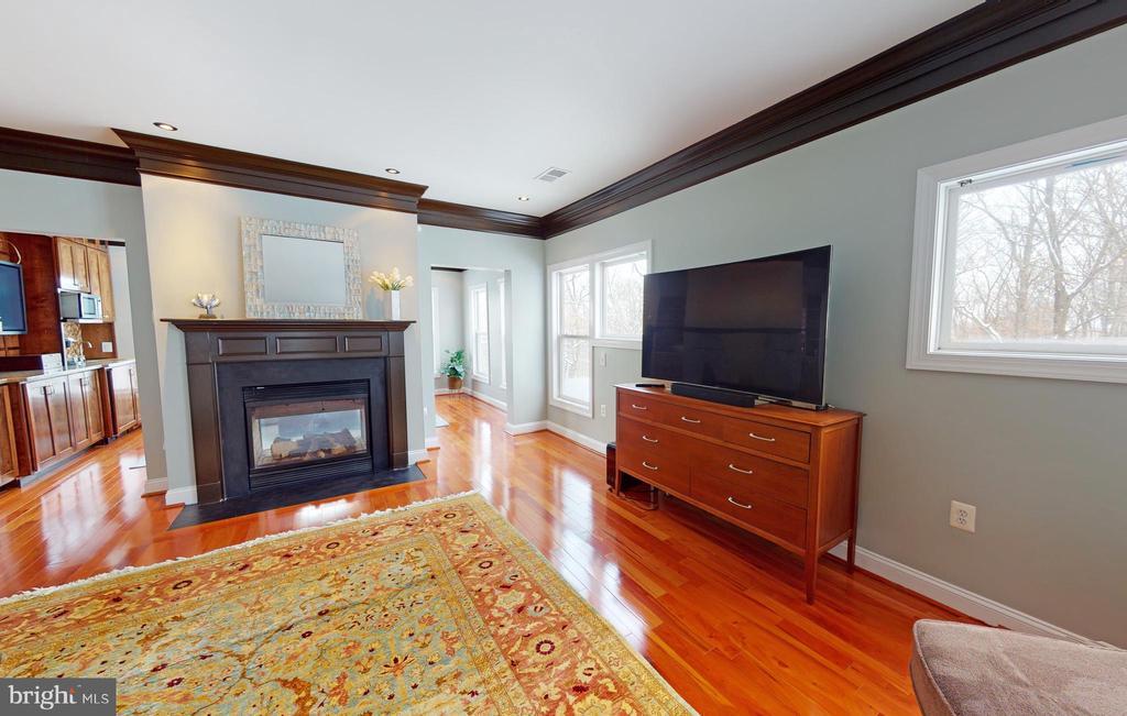 Owner's bedroom - 206 GREENHOW CT SE, LEESBURG