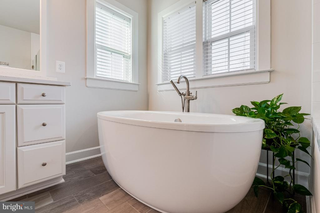 Luxurious Primary Owners Bathroom with Soaking Tub - 23581 AMESFIELD PL, ALDIE