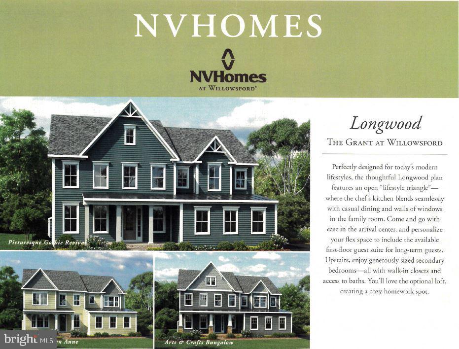 NV Homes Longwood Model - 23581 AMESFIELD PL, ALDIE