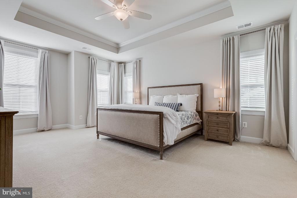 Primary Owners Bedroom w/ Dual Walkin Closets - 23581 AMESFIELD PL, ALDIE