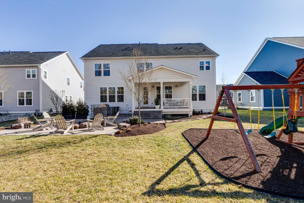 Rear of the House - 23581 AMESFIELD PL, ALDIE