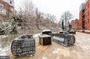 Community terrace - 1411 KEY BLVD #211, ARLINGTON