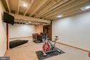 Finished basement with wood burning stove - 24 CARDINAL DR, FREDERICKSBURG