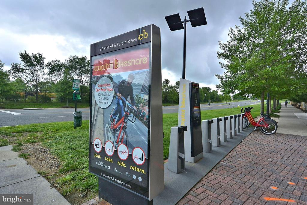 Bike Share - 3650 S GLEBE RD #267, ARLINGTON