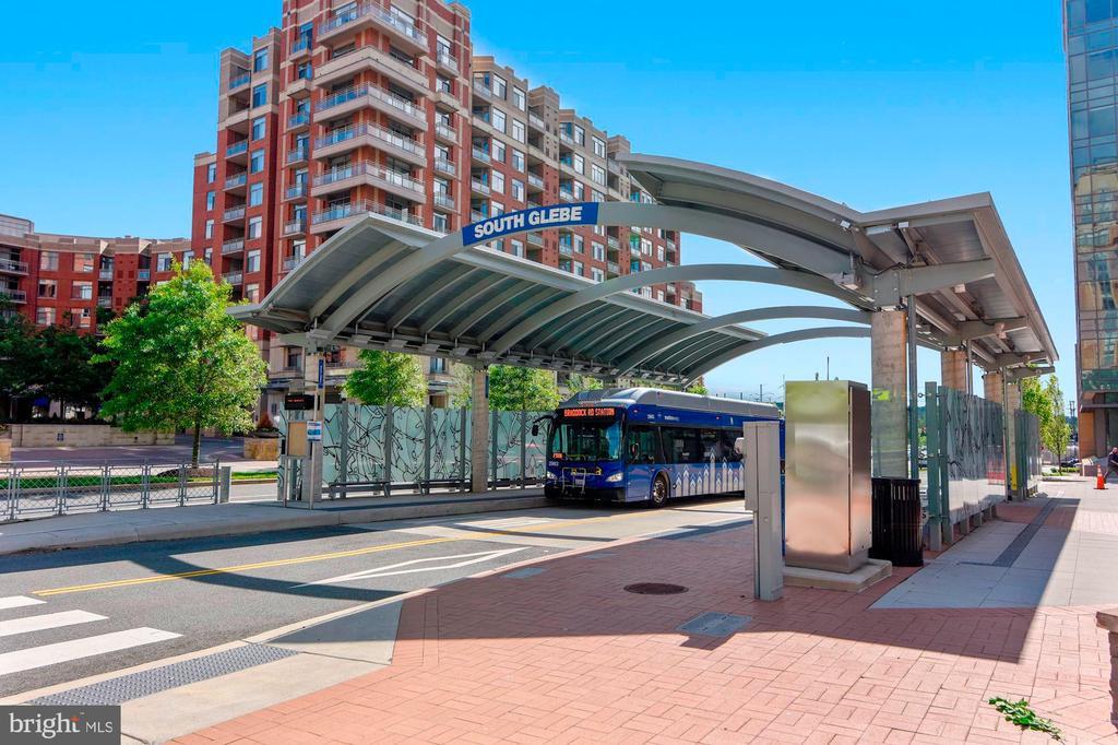 Bus Terminal Across the Street - 3650 S GLEBE RD #267, ARLINGTON
